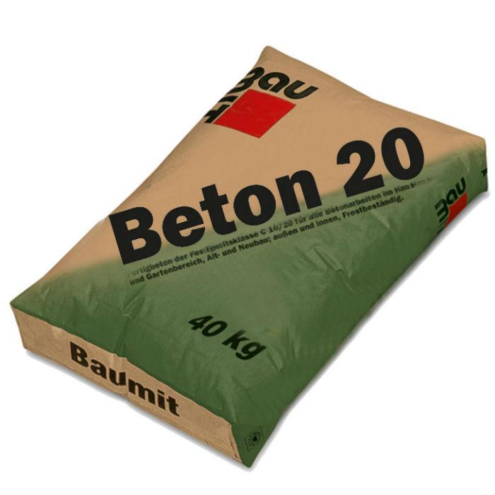 baumit beton 20 beton uscat 20 40 kg. Black Bedroom Furniture Sets. Home Design Ideas