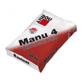 Baumit Manu 4 - Tencuială manuală var-ciment