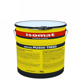 Isomat Isoflex-Pu 500 Thixo - Membrană hidroizolantă lichidă 25 kg