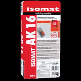 Isomat AK 16 - Adeziv aditivat cu răşini, pentru plăci, 25 kg gri