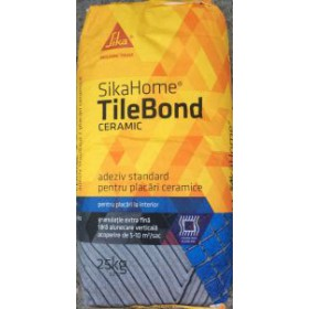 SikaHome TileBond Ceramic - Adeziv pentru placari ceramice la interior